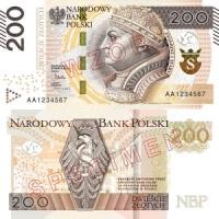 Zmodernizowany banknot 200 zł wkrótce w obiegu