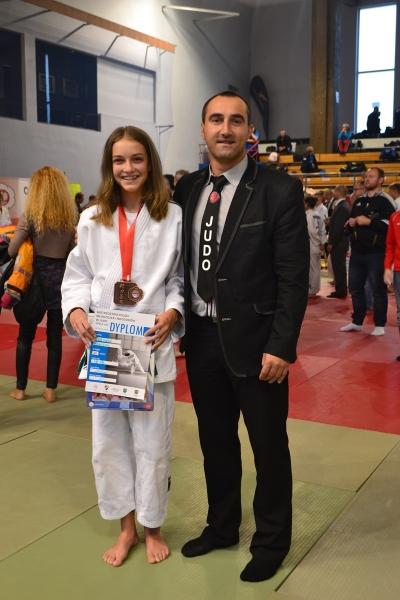 Brązowy medal podopiecznej Michała Czarneckiego na MPMiM w Judo
