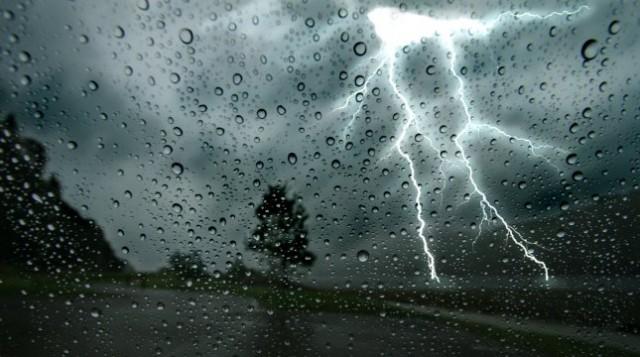 Ostrzeżenie o burzach - 4 maja