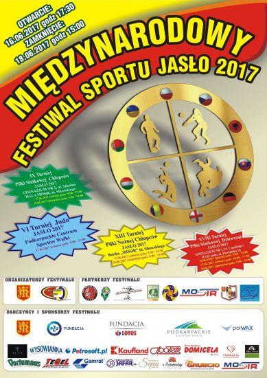 Międzynarodowy Festiwal Sportu JASŁO 2017 – siatkówka, piłka nożna, judo