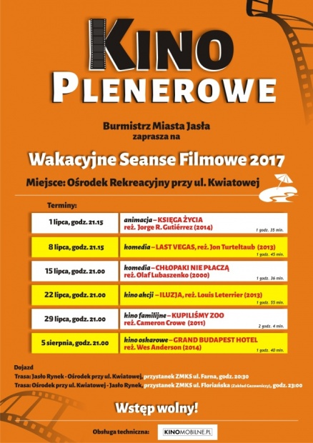 Wakacyjne kino plenerowe na Kwiatowej! - kliknij aby powiększyć