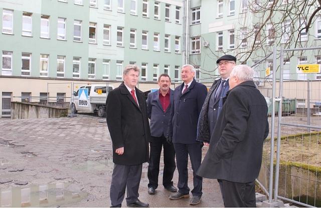 Trwają prace związane z rozbudową jasielskiego szpitala