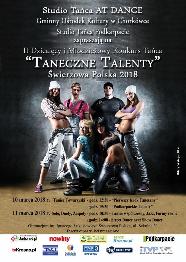 """II Dziecięcy i Młodzieżowy Konkurs Tańca """"Taneczne Talenty"""""""