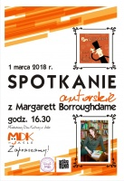 Spotkanie autorskie z Margarett Borroughdame