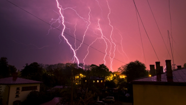 Uwaga! Nasz region zagrożony burzami z gradem