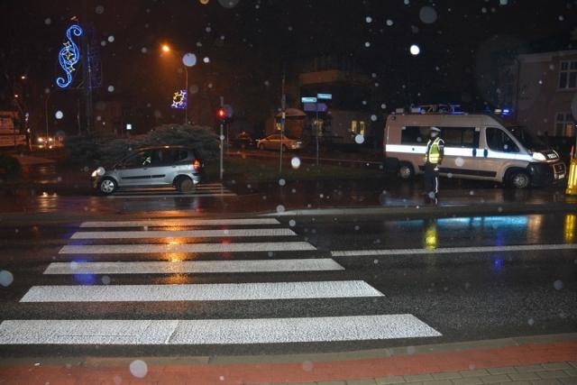 Policjantka z Jasła pomogła poszkodowanemu w wypadku w Krośnie!