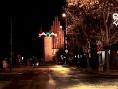 Jasło w świątecznej iluminacji