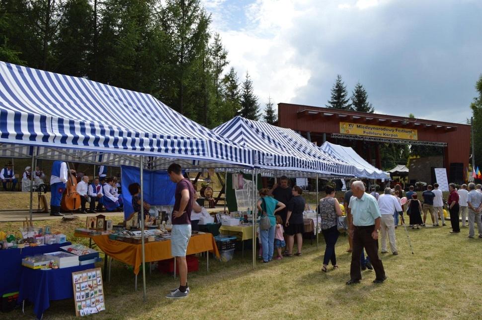 XV Międzynarodowy Festiwal Folkloru Karpat w Trzcinicy
